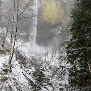 La Tourell falls. Columbia River Gorge, Oregon.
