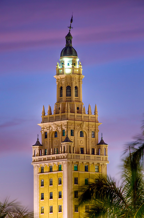 Miami Freedom Tower. Historical building of Cuban Inmigration.