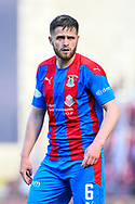 Danny Devine (#6) of Inverness Caledonian Thistle FC during the SPFL Championship match between Heart of Midlothian and Inverness CT at Tynecastle Park, Edinburgh Scotland on 24 April 2021.