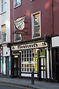 ODonoghues traditional Irish pub on 3rd April 2017 in Dublin, Republic of Ireland. Dublin is the largest city and capital of the Republic of Ireland.