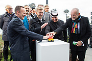 Official inauguration by the mayor of Copenhagen Frank Jensen, the Architect Bjarke Ingels among the official guests.