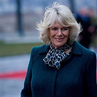 Britain's Camilla, Duchess of Cornwall visit Budapest with his husband Charles prince of Wales (not pictured), Hungary. Wednesday, 17. March 2010. ATTILA VOLGYI