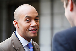 © licensed to London News Pictures. London, UK 17/01/2014. Chuka Umunna attending to Ed Miliband's speech on the economy at University of London on Friday, 17 January 2014. Photo credit: Tolga Akmen/LNP