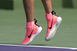 March 21, 2018 - Miami, FL, United States - Miami, FL - March, 21: Viktoria Azarenka (BLR) in action here defeats Catherine Bellis (USA) 63 63 at the 2017 Miami Open held at the Tennis Center at Crandon Park.   Credit: Andrew Patron/Zuma Wire (Credit Image: © Andrew Patron via ZUMA Wire)