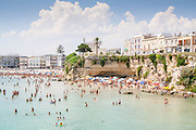 Town beach in Otranto