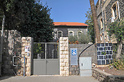 Tiberias, Israel on the shores of the Sea Of Galilee The St. Andrew's Church of Scotland
