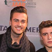 NLD/Amsterdam//20140326 - Filmpremiere Captain America The Winter Soldier, Dave Roelvink en Lil' Kleine