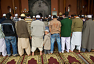 The ritual of the prayer facing Mecca, a commitment a Muslim must honor five times a day.