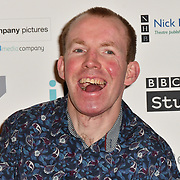 Lee Ridley attends 2019 Writers' Guild Awards at Royal College of Physicians on 14 January 2019, London, UK