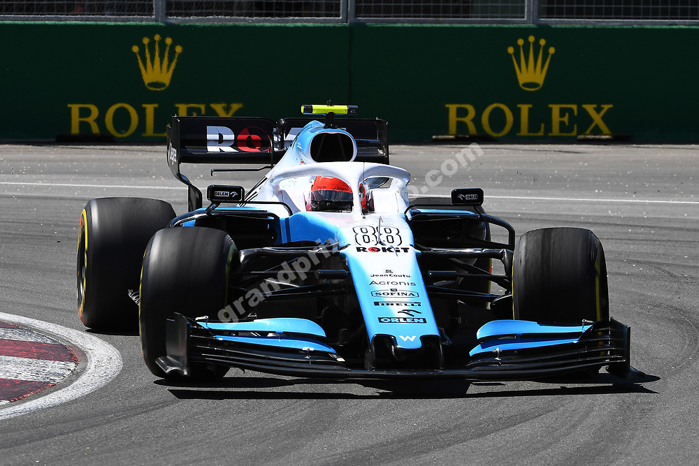 Robert Kubica (Williams-Mercedes) during practice for the 2019 Canadian Grand Prix in Montreal. Photo: Grand Prix Photo