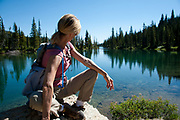 Teresa Kennedy at Birch Lake