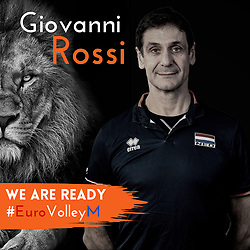 Ass. coach Giovanni Rossi, of Netherlands, Photoshoot selection of Orange men's volleybal team season 2021on may 11, 2021 in Arnhem, Netherlands (Photo by RHF Agency/Ronald Hoogendoorn)
