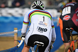 February 9, 2019 - Lille, BELGIUM - Belgian world champion Sanne Cant pictured in action during the women's elite race of the Krawatencross cyclocross in Lille, the eighth and last stage in the DVV Trofee Cyclocross competition, Saturday 09 February 2019. BELGA PHOTO DAVID STOCKMAN (Credit Image: © David Stockman/Belga via ZUMA Press)