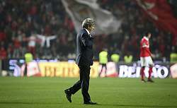 January 3, 2018 - Lisbon, Portugal - Sporting's coach Jorge Jesus leaves the pitch in the end of  the Portuguese League  football match between SL Benfica and Sporting CP at Luz  Stadium in Lisbon on January 3, 2018. (Credit Image: © Carlos Costa/NurPhoto via ZUMA Press)