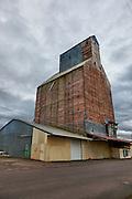 USA, Oregon, Brownsville, old granary, Digital Composite, HDR
