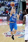 DESCRIZIONE : Pesaro Edison All Star Game 2012<br /> GIOCATORE : Andrea De Nicolao<br /> CATEGORIA : tiro<br /> SQUADRA : Italia Nazionale Maschile<br /> EVENTO : All Star Game 2012<br /> GARA : Italia All Star Team<br /> DATA : 11/03/2012 <br /> SPORT : Pallacanestro<br /> AUTORE : Agenzia Ciamillo-Castoria/C.De Massis<br /> Galleria : FIP Nazionali 2012<br /> Fotonotizia : Pesaro Edison All Star Game 2012<br /> Predefinita :