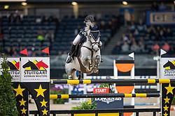Danielsson Ebba, SWE, Dynamite Spartacus<br /> Stuttgart - German Masters 2018<br /> © Hippo Foto - Stefan Lafrentz
