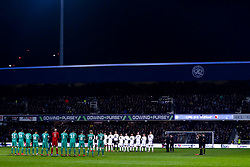 Queens Park Rangers and Watford observe a minutes applause for former England goalkeeper Gordon Banks - Mandatory by-line: Robbie Stephenson/JMP - 15/02/2019 - FOOTBALL - Loftus Road - London, England - Queens Park Rangers v Watford - Emirates FA Cup fifth round proper