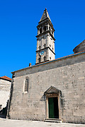 St Nicholas orthodox church, Perast, Bay of Kotor, Montenegro