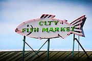 The famous Public Market in Seattle