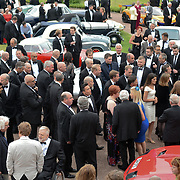 Guests attend The Motor Sport Hall of Fame will return to the spectacular Royal Automobile Club at Woodcote Park, Surrey, London, UK. 4 June 2018.