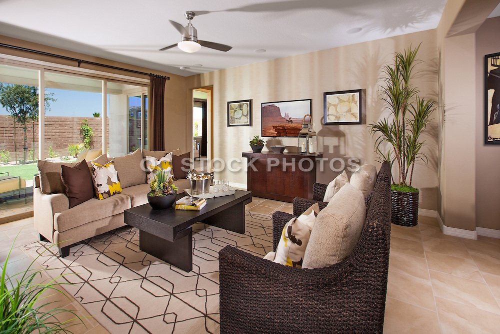 Modern Contemporary Living Room in Neutral Colors