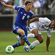 Melicsohn Maor, Israel, in action during the Israel V Honduras  International Friendly football match at Citi Field, Queens, New York, USA. 2nd June 2013. Photo Tim Clayton