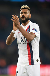 Eric Maxim Choupo-Moting of PSG celebrates the victory following the UEFA Champions League Raphael Varane Paris Saint Germain and Real Madrid at Parc des Princes on September 18, 2019 in Paris, France<br /> Photo by David Niviere/ABACAPRESS.COM