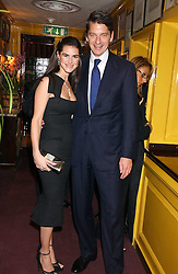 CHARLES & ANNABELLA MURPHY at a dinner hosted by Stratis & Maria Hatzistefanis at Annabel's, Berkeley Square, London on 24th March 2006 following the christening of their son earlier in the day.<br /><br />NON EXCLUSIVE - WORLD RIGHTS