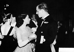 File photo dated 16/07/47 of Princess Elizabeth dancing with her fiance, Lieutenant Philip Mountbatten, RN, at the Assembly Rooms, Edinburgh, when a ball was held to welcome the royal family to Scotland. The Duke of Edinburgh has died, Buckingham Palace has announced. Issue date: Friday April 9, 2020.. See PA story DEATH Philip. Photo credit should read: PA Wire