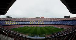 A general view of the Nou Camp - Photo mandatory by-line: Dougie Allward/JMP - Mobile: 07966 386802 - 18/03/2015 - SPORT - Football - Barcelona - Nou Camp - Barcelona v Manchester City - UEFA Champions League - Round 16 - Second Leg