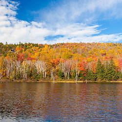 Zealand Pond in fall. White Mountain National Forest, New Hampshire.