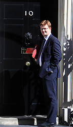 © Licensed to London News Pictures 24/04/2013.Danny Alexander, Chief Secretary to the Treasury, arrives at Downing Street..London, UK.Photo credit: Anna Branthwaite/LNP