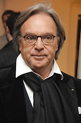 DIEGO DELLA VALLE CEO & President of TOD's  at the TOD's Art Plus Film Party 2008 hosted by The Whitechapel Art Gallery at a former church at 1 Marylebone Road, London NW1 on 6th March 2008.<br />