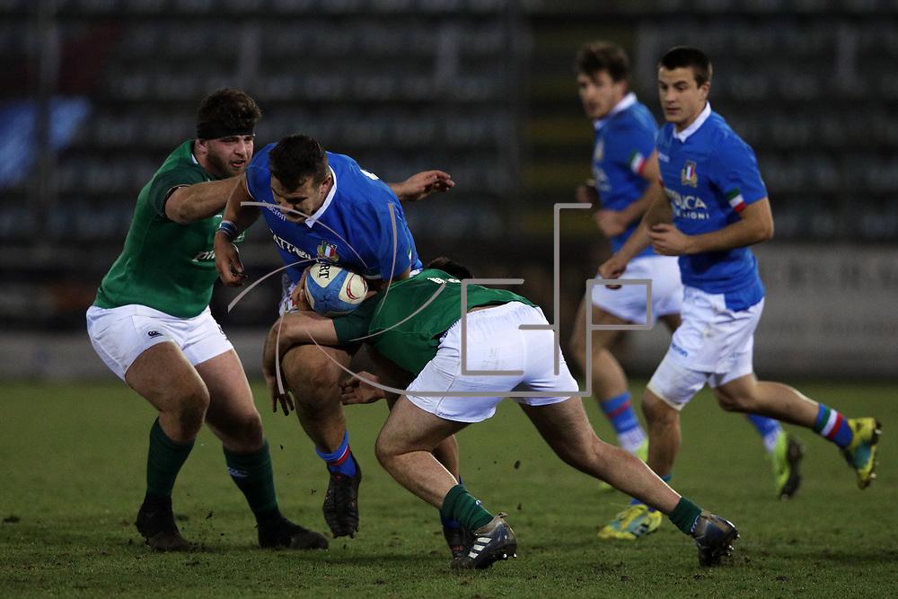 Rieti 22/02/2019 Stadio Centro d'Italia<br /> 6 nazioni under 20 <br /> Italia vs Irlanda