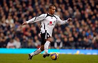 Photo: Alan Crowhurst.<br />Fulham v West Ham United. The Barclays Premiership. 23/12/2006. Fulham's Wayne Routledge attacks.