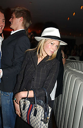 GEORGINA CASTLEMAN at a night of Cuban Cocktails and Cabaret hosted by Edward Taylor and Charles Beamish at Floridita, 100 Wardour Street, London W1 on 14th April 2005.<br /><br />NON EXCLUSIVE - WORLD RIGHTS
