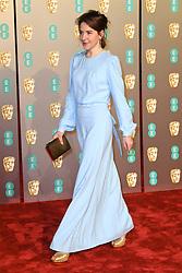 Gemma Whelan attending the 72nd British Academy Film Awards held at the Royal Albert Hall, Kensington Gore, Kensington, London