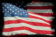 In Memory of 911 - American Flag