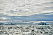 The huge glacier Nordaustfonna seen from Kapp Laura at Nordaustlandet i July 2012.