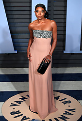 Gabrielle Union attending the Vanity Fair Oscar Party held in Beverly Hills, Los Angeles, USA.