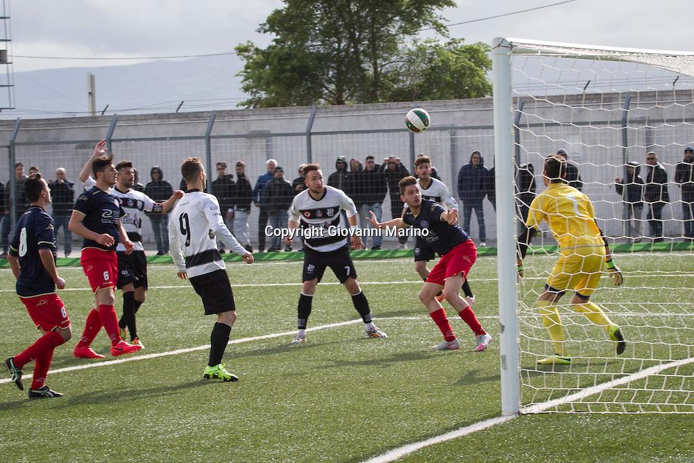 Rionero in V. (PZ) 24.04.2016 - Eccellenza Lucana 2015-2016. Vultur - Sporting Pignola. Risultato Finale 2-0. La Vultur Rionero promossa in Serie D.
