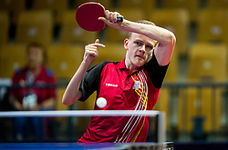 DEVOS Laurens of Belgium plays final match during Day 4 of SPINT 2018 - World Para Table Tennis Championships, on October 20, 2018, in Arena Zlatorog, Celje, Slovenia. Photo by Vid Ponikvar / Sportida