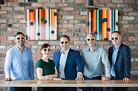 No repro fee<br /> 15-6-2016<br /> HAILO PASSES 100,000 BUSINESS JOURNEYS IN IRELAND<br /> HAILO TO TARGET BUSINESS COMMUNITY AS IT GEARS UP FOR FURTHER<br /> GROWTH IN IRISH MARKET<br /> Picture shows from left Anthony Kelly, Founder, Glofox;Clare Dillon, StartUp Programme Lead, Microsoft; Niall Carson, Head of Sales, Hailo in Ireland;David Craig, Founder,Digital Design Studio; and Enda Gunnel, CEO, Pinergy; as Hailo, Ireland's leading transport app, has today announced that it has passed 100,000 journeys on its Hailo for Business platform in Ireland. The announcement was made at a Hailo/The Dean business breakfast this morning, which focused on scaling technology businesses in<br /> the Irish market.Pic:Naoise Culhane-no repro fee<br /> Hailo stated that it now has over 500 business accounts, including Twitter, HSBC, PTSB, Paddy Power,<br /> Morgan McKinley and Core Media. It said that 1 in 15 jobs on the Hailo network are now Hailo for<br /> Business jobs, highlighting the significance of the Hailo for Business service in the Irish market.<br /> Hailo said that one of the key pillars for growth in the Irish market in 2016 and beyond involves<br /> growth in the business travel sector. Hailo for Business was an obvious step for the company, which<br /> has been in the Irish market for nearly 4 years and has continued to grow rapidly in the consumer<br /> segment. Hailo now carries 45,000 passengers every day and has over 600,000 registered users. Hailo<br /> has completed over 13 million jobs since launch in 2012, carrying over 20 million passengers.<br /> Further info: Niall Carson,Head of Sales,e: niall.carson@hailocab.com, m: +353 (0) 877533888<br /> Pic:Naoise Culhane-no fee