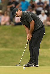 March 23, 2018 - Austin, TX, U.S. - AUSTIN, TX - MARCH 23:  Patrick Reed watches his birdie attempt miss the seventh hole during the WGC-Dell Technologies Match Play Tournament on March 22, 2018, at the Austin Country Club in Austin, TX.  (Photo by David Buono/Icon Sportswire) (Credit Image: © David Buono/Icon SMI via ZUMA Press)