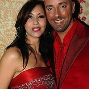 NLD/Amsterdam/20051128 - Uitreiking Beau Monde Awards 2005, Marielle Bastiaansen en Maik de Boer