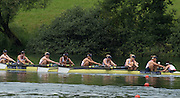 Lucerne, SWITZERLAND.  GBR W8+ Bow, Rosamund BRADBURY, Louisa REEVE, Katie GREVES, Donna ETIEBET, Jessica EDDIE, Zoe LEE, Polly SWANN, Caragh MCMURTRY and cox Zoe DE TOLEDO,  Racing for lanes  at the 2014 FISA WC III, Lake Rotsee.  11:48:59  Saturday  12/07/2014  [Mandatory Credit; Peter Spurrier/Intersport-images]