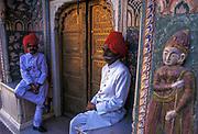 Guards, City Palace, Jaipur