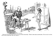 """Mabel (who has been promised sixpence if she will extract a loose tooth). """"Here's the tooth, grandfather. But if you'd rather not pay till after the war you needn't."""""""