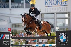 El Zoghby Karim, EGY, Amelia<br /> Rolex Grand Prix CSI 5* - Knokke 2017<br /> © Hippo Foto - Dirk Caremans<br /> 09/07/17